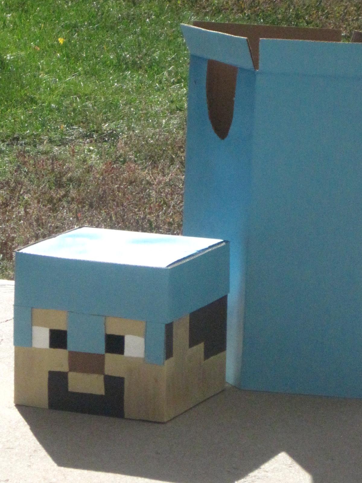 Little House In Colorado: Minecraft Halloween Costume
