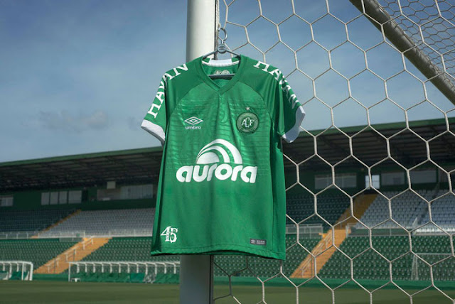 Chapecoense 2018 umbro Kit