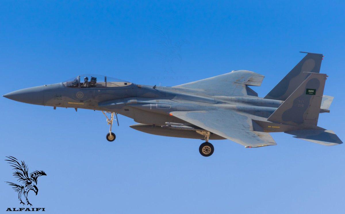 Yemeni Hussites hit a Saudi F-15 aircraft 26