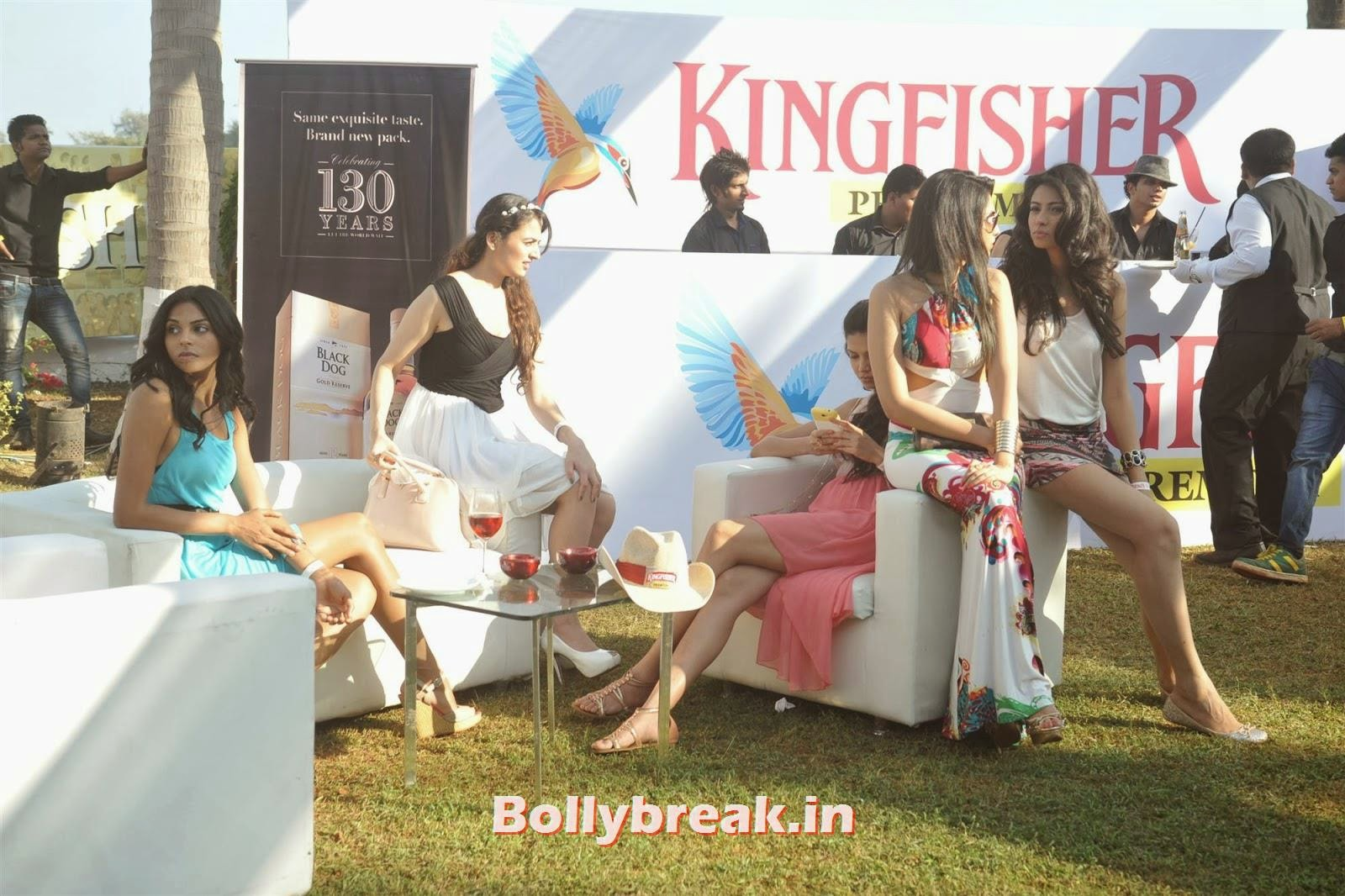 , Full Set : Super Hot Models at Kingfisher Calendar Launch In Alibaug Mumbai