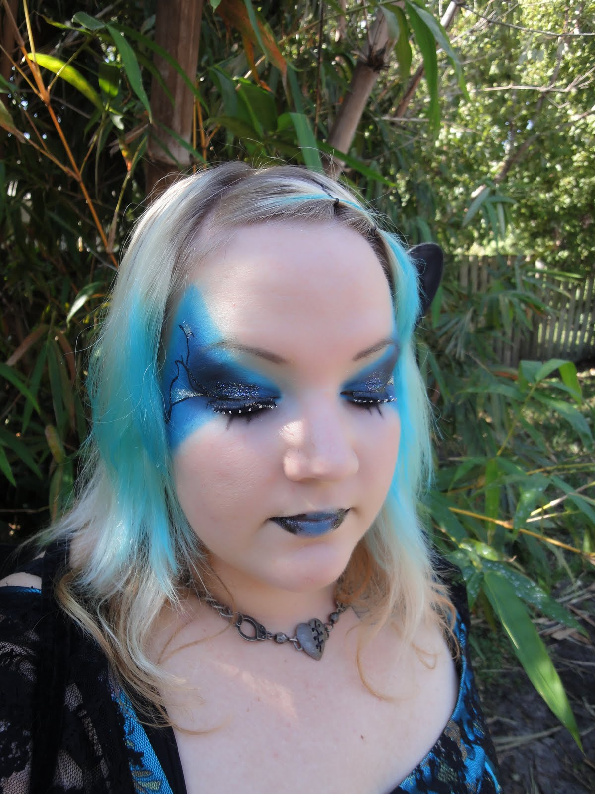 Makeup Bloggers On Youtube: Kim's Makeup Blog: Dark Fairy Makeup