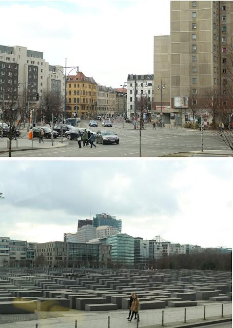 La ciudad de Berlin y el monumento al Holocausto