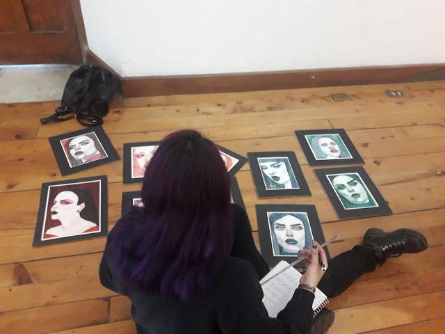 Imágenes de la muestra First Step en Casa Noj 2018