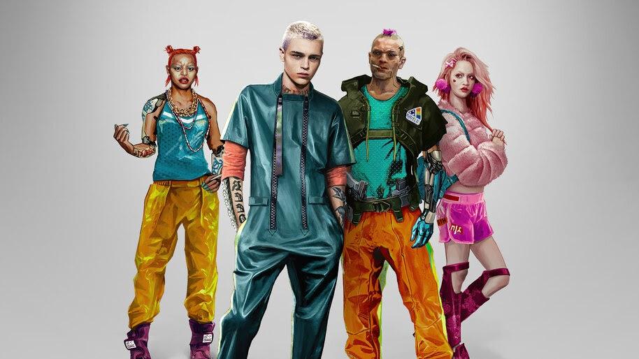 Cyberpunk 2077, Kitsch, Style, Concept Art, 4K, #3.2232