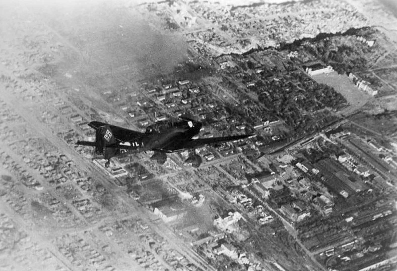 In October of 1942, a German Junkers Ju 87