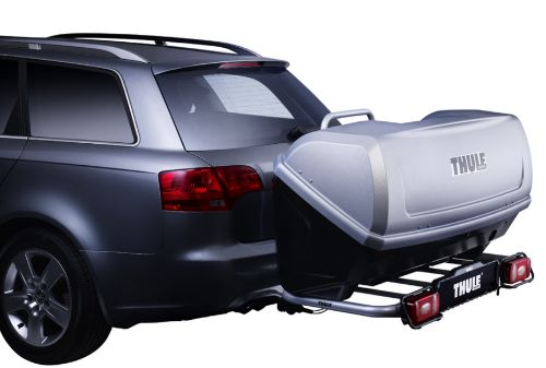 thule easybase met thule backup bagagebox trekhaak