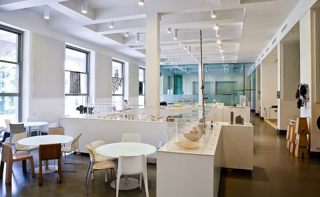 Design Café & Restaurant no Museu La Triennale