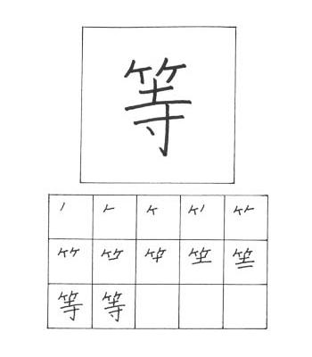 kanji golongan