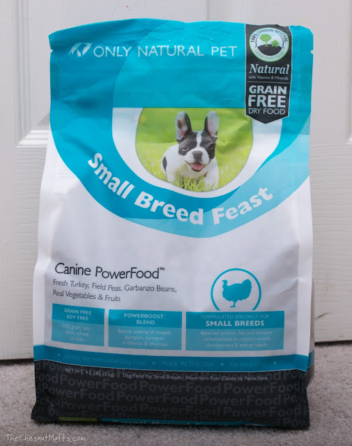 Bag of Only Natural Pet Small Breed Feast