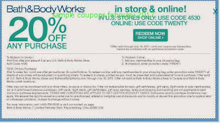 Bath And Body Works coupons february 2017