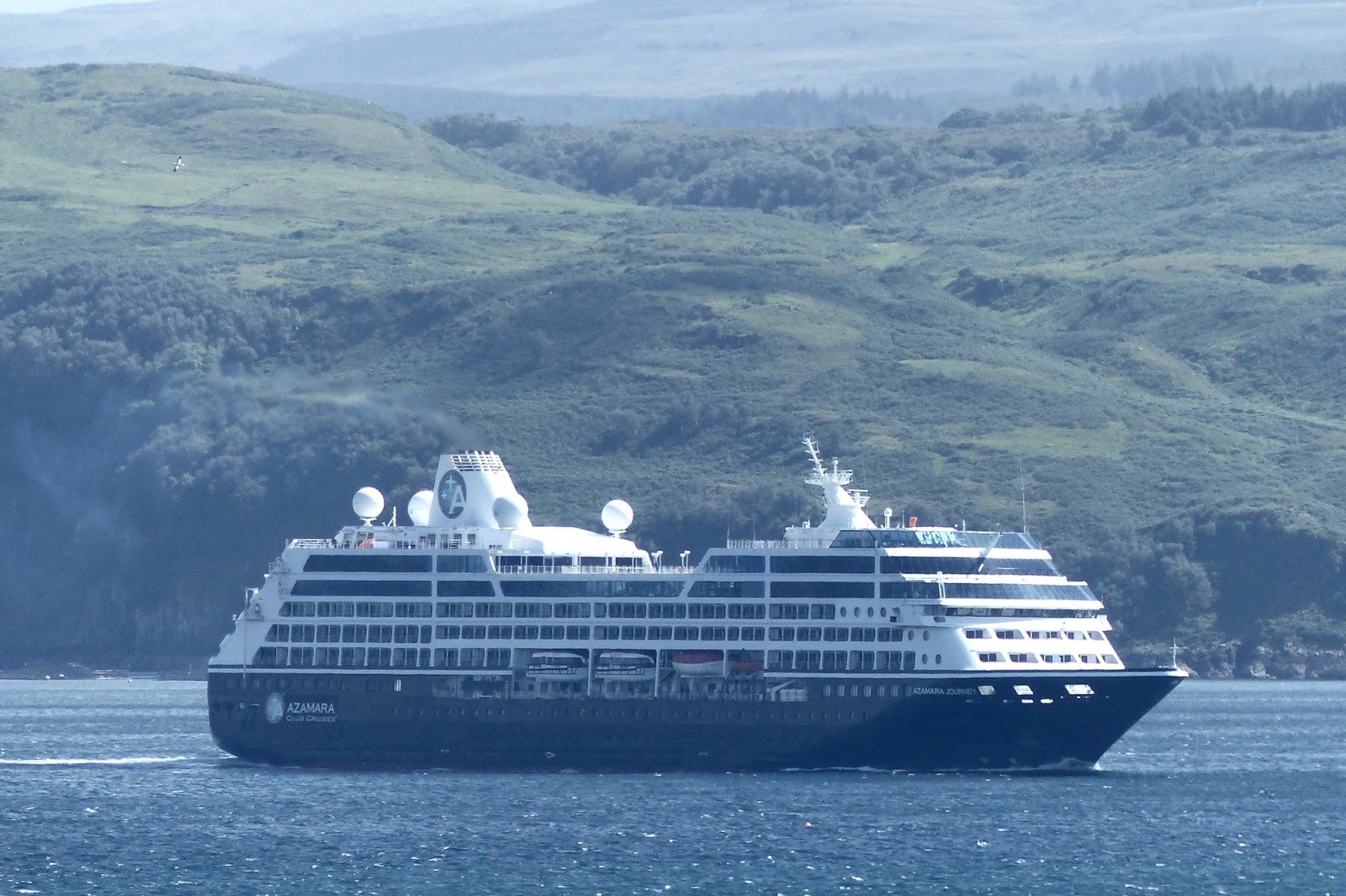 A Kilchoan Diary A Parade Of Ships - Us registered cruise ships