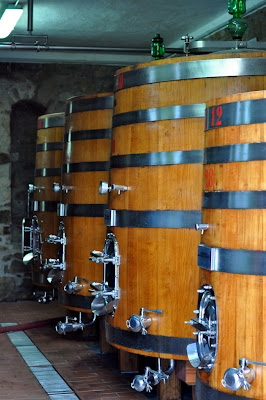Wine Barrels at Capannelle in Gaiole in Chianti, Italy - Photo by Taste As You Go
