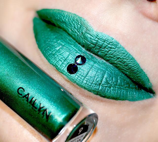 Cailyn Mattalic tint 09 Draco отзыв свотчи макияж, стойкая матовая помада,