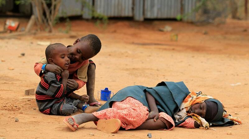 Kelaparan di Afrika