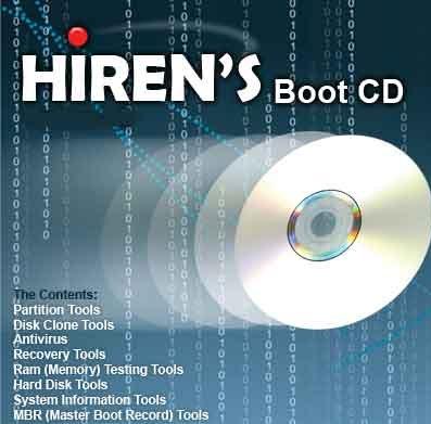 Tips Pasti Sukses Menghapus Password Windows XP, 7, 8 Menggunanakan Hiren's BootCD