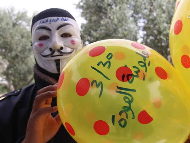 20,000 Warga Gaza Berada pada Kericuhan di Perbatasan Israel-Palestina