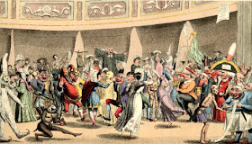 Masquerade, Argyll Rooms  Print by T Lane Published by George Hunt (1826) © British Museum