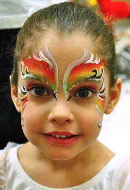 Simple Face Painting Designs Children