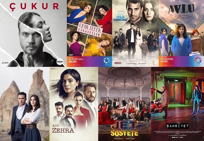 Kış Sezonu İzlediğim Türk Dizileri (2018)