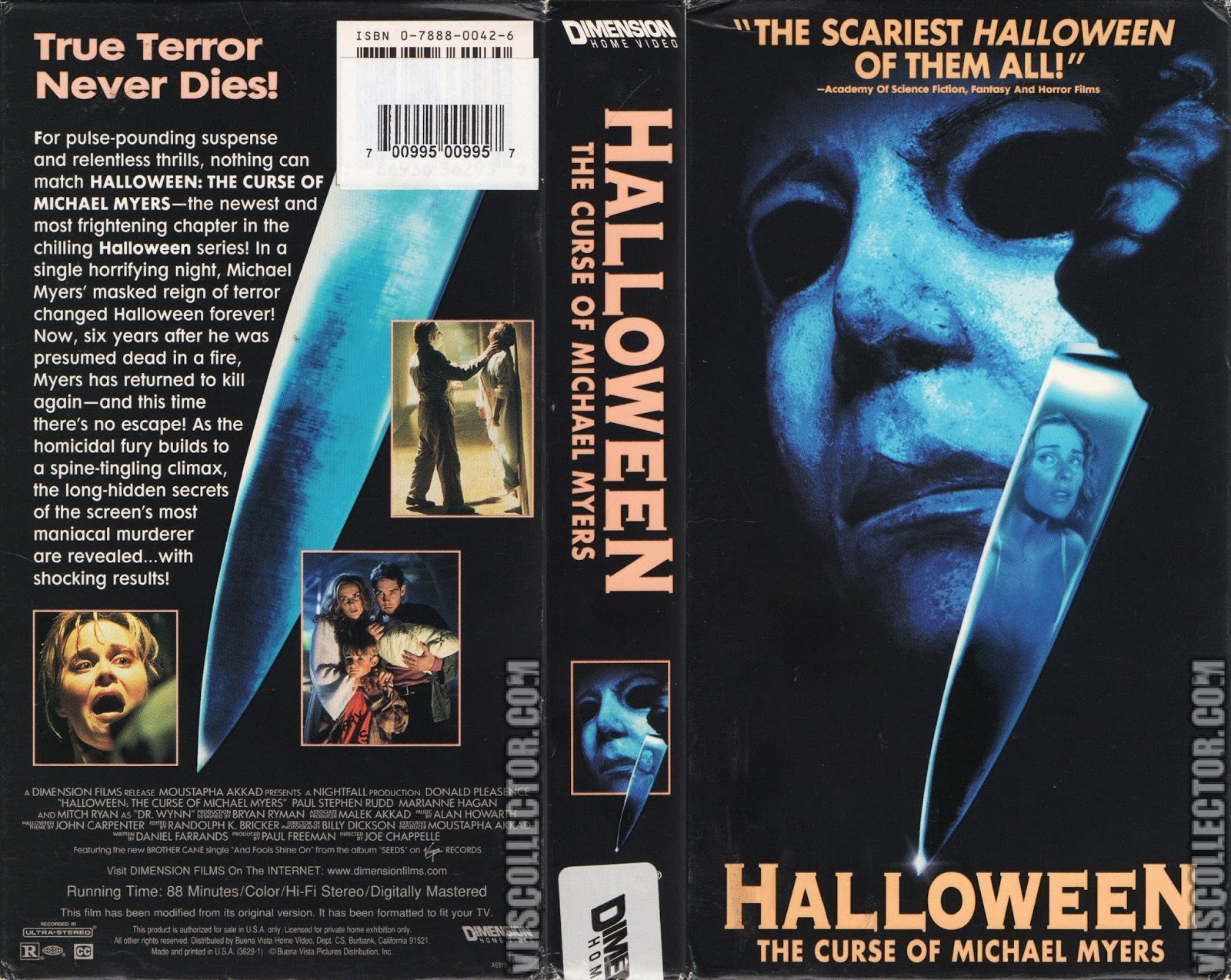 The Horrors of Halloween: HALLOWEEN 6 THE CURSE OF MICHAEL MYERS ...