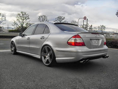 mercedes w211 e240 amg look benztuning. Black Bedroom Furniture Sets. Home Design Ideas