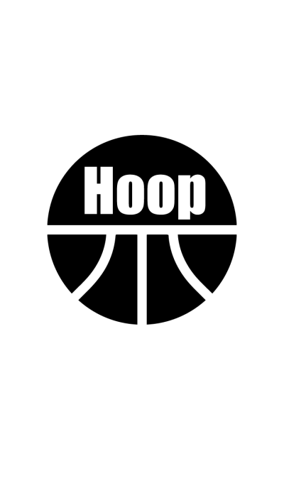Hoop -monochrome-