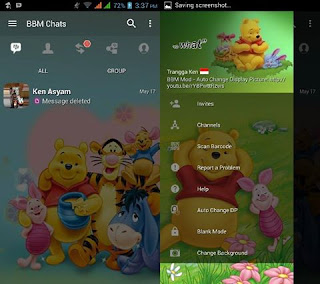 Download bbm mod Winnie The Pooh v3.3.4.48 Apk For Android