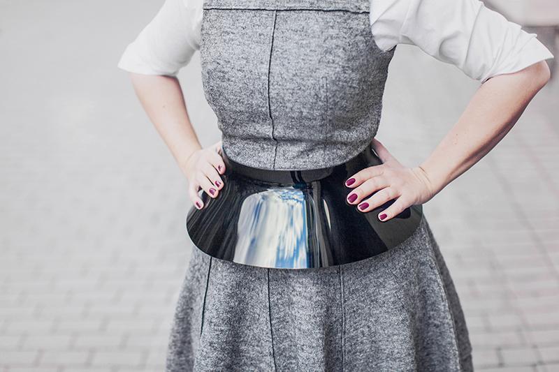 ASOS High Shine Skirt Belt
