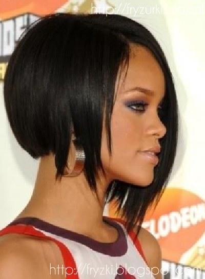 Wwwwlosyes Katalog Modnych Fryzur Fryzura Bob Rihanna