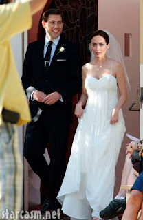 Emily Blunt Wedding Dress