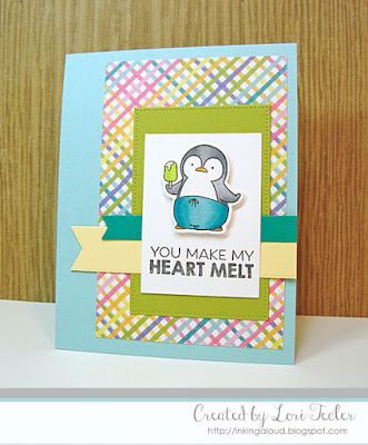 You Make My Heart Melt card-designed by Lori Tecler/Inking Aloud-stamps and dies from My Favorite Things