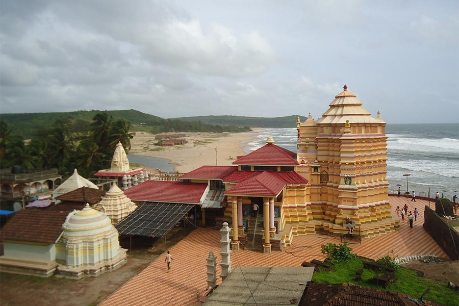 Kunkeshwar Temple And Beach Konkankatta In