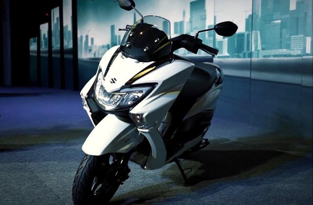 Suzuki Burgman 125 2019