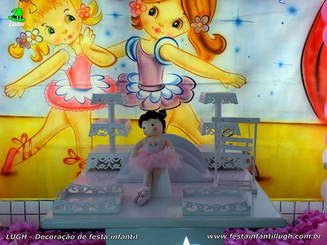 Festa tema bailarinas, aniversário infantil
