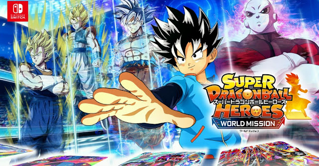 Super Dragon Ball Heroes: World Mission Nintendo Switch demo Releases March 28 in Japan