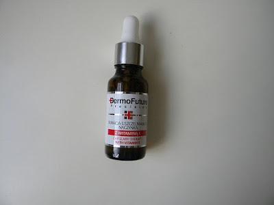 Kuracja uszczelniająca naczynka z witaminą K od Dermofuture, recenzja.