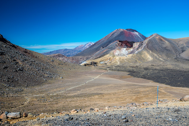 Three peaks on Tongariro Crossing