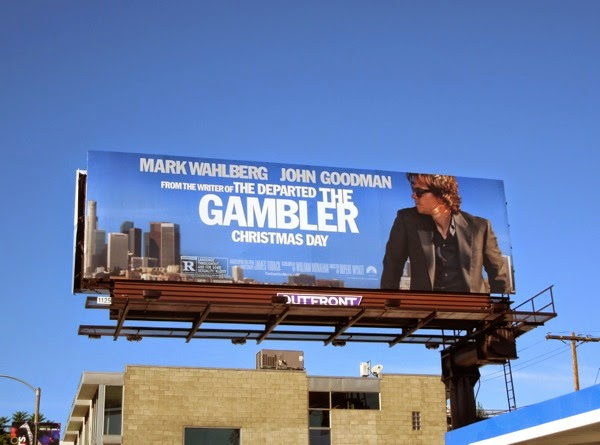 The Gambler movie billboard
