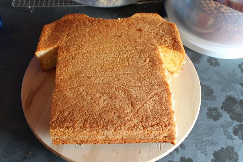 Crazy Backnoe Trikot Torte