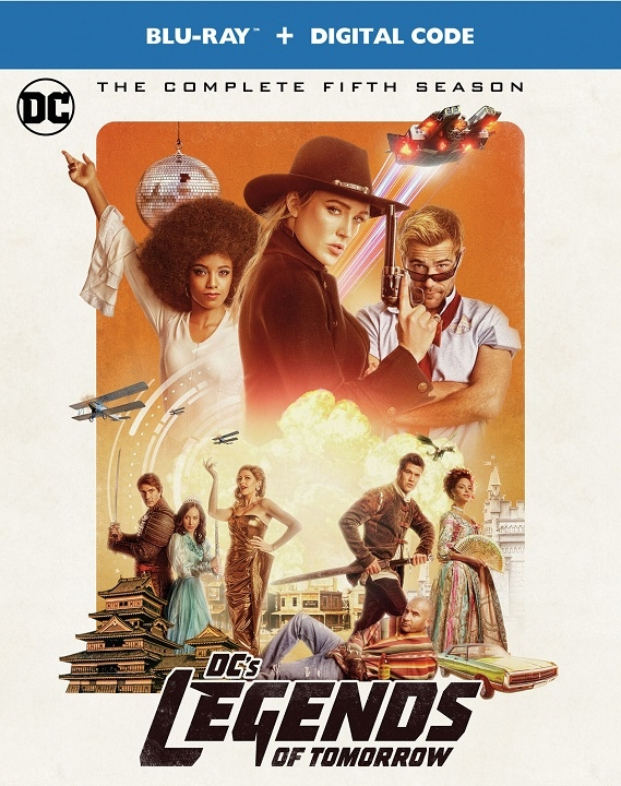 DC's Legends of Tomorrow: The Complete Fifth Season - Time Jump To 9/22 To Own The Blu-ray & DVD! (Warner Bros.)