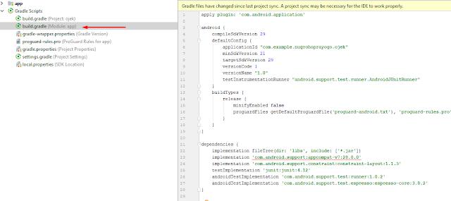 Cara Membuat Project Android Studio Pertama Kali