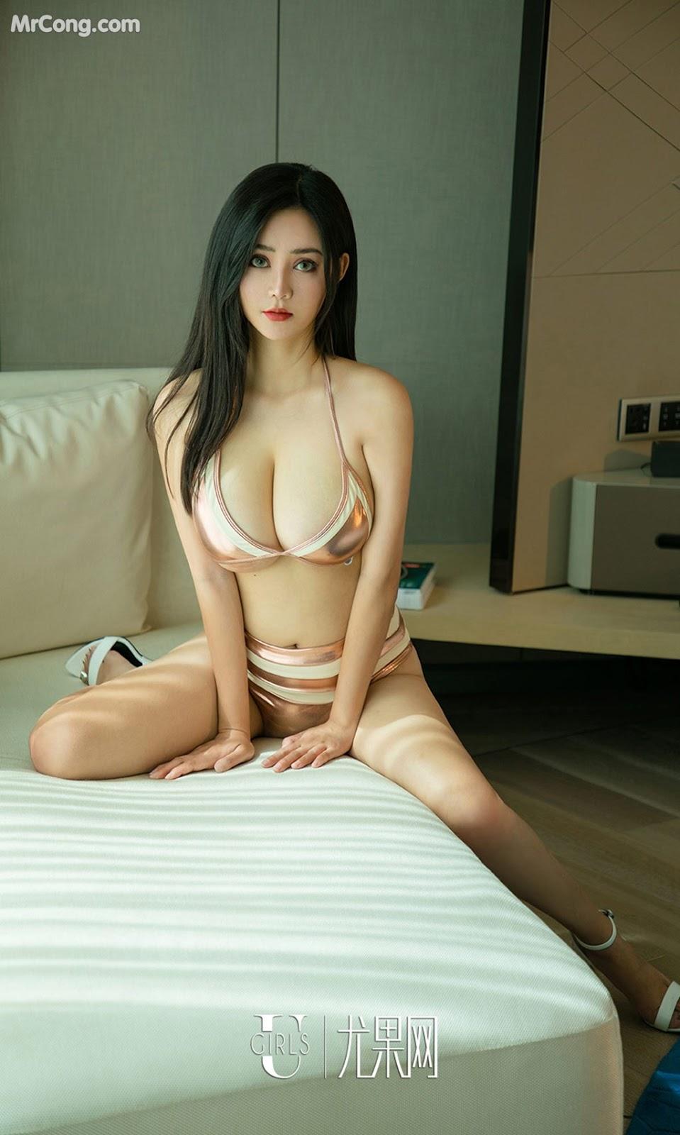 Image UGIRLS-Ai-You-Wu-App-No.1147-Gu-Fei-MrCong.com-007 in post UGIRLS – Ai You Wu App No.1147: Người mẫu Gu Fei (古菲) (35 ảnh)