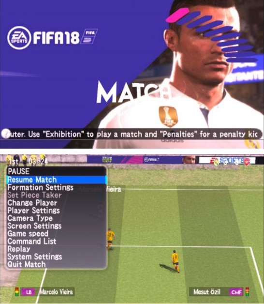 Download PES MOD FIFA 18 Patch Jogress V3 For Android