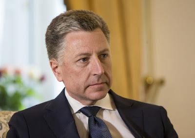 Специальный представитель президента США по вопросам Украины Курт Волкер