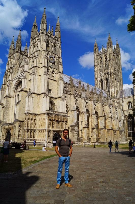 lateral derecho Catedral de Canterbury