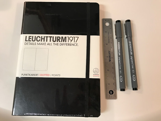 Bullet Journal Basic Supplies