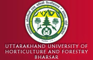 Govt jobs in uttarakhand 2015 UTTARAKHAND UNIVERSITY OF HORTICULTURE AND FORESTRY