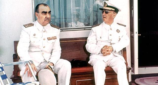 Carrero Blanco y Franco