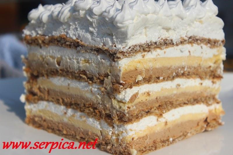 Peku koje se ne voćne torte Brza torta