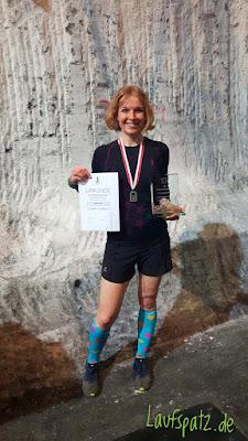 13.Kristallmarathon Erlebnis Bergwerk Merkers 2019 Halbmarathon Siegerin